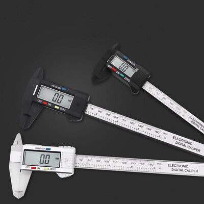 Digital Electronic Gauge Stainless Steel Vernier Caliper 150mm 6inch Micrometer*