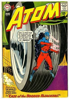 Atom #17 FN+ 6.5 off-white pages  DC  1965  No Reserve