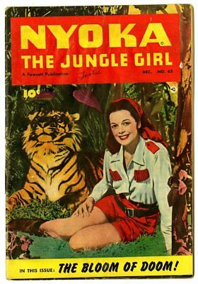 Nyoka the Jungle Girl #62 VG 4.0  Photo Cover  Fawcett  1951  No Reserve