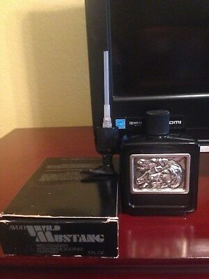 Avon Wild Mustang After Shave Soother Dispenser Decanter - Wild Country - 1982