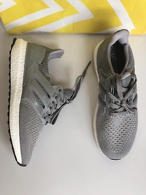 ab80ccaadd010 Adidas Ultra Boost Gray Mesh Sneakers Shoes Trainers Shoe Us 5 Mens Uk 3.5