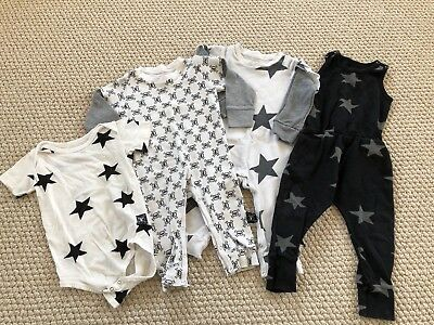Nununu 12-18 Month Star & Skull Amazing Lot!