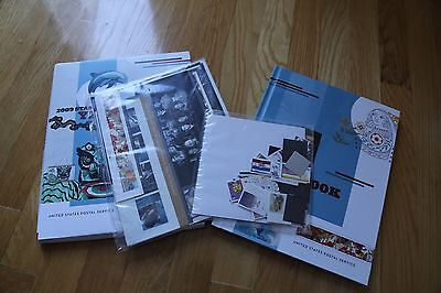 2009 USPS Stamp Collection Sealed Year Book Year Set with mail use stamp packet