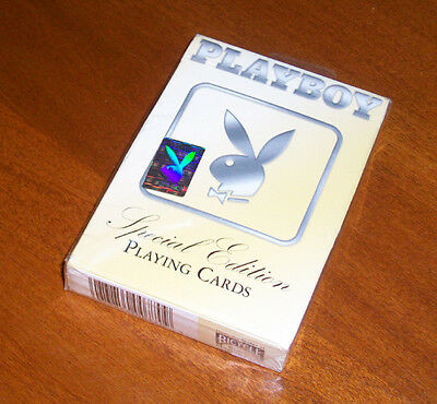 Playboy Special Edition Playing Cards 2005 SEALED