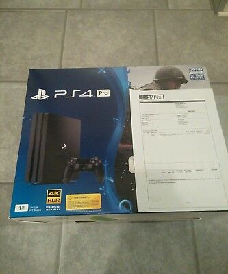 Sony PlayStation 4 Pro 1tb + thats you spiel.