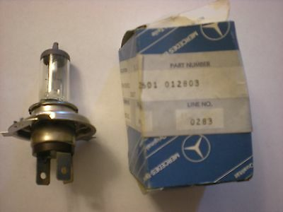 Lot of 3 Mercedes Halogen Bulbs N 072601 012803 NOS New Old Stock