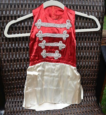 Vintage 1950 Childs Little Girls Dance Costume Outfit Majorette Play Dress Up