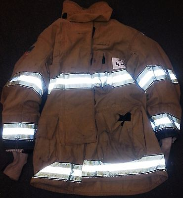 44x35 Firefighter Jacket Coat Turn Out Gear Globe Gxtreme J456 Manufactured 2009