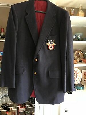 Hard to find !Very rare , unique, Collectible ! Brand new USF&G 44 long blazer