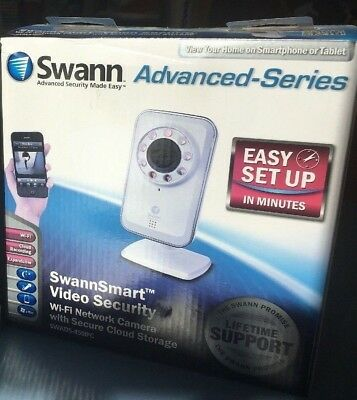 SWANN SWADS-450IPC ADS-450 Security Camera Home Wi-Fi Network Secure Cloud CCTV