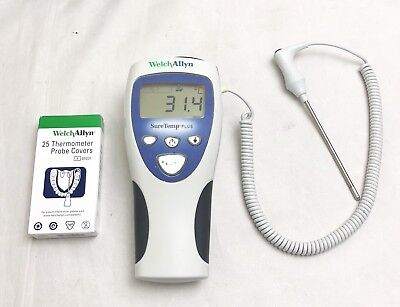 Welch Allyn Sure Temp 692 Plus Oral Thermometer + New Box Of Probe Covers