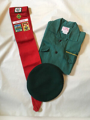 Vintage Boy Scouts Canada Uniform 14th Fredericton, New Brunswick