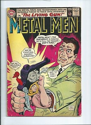 DC Metal Men 7 The living Gun Used condition