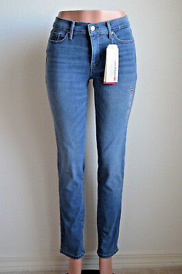 Levi's 312 Shaping Slim Jeans Bourbon Blue NWT Style 196270042