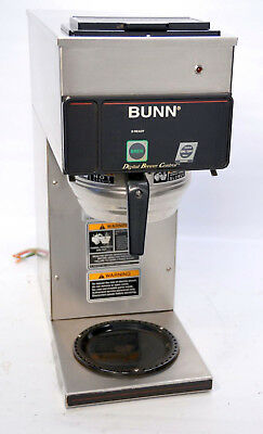 Bunn CDBCP35 12 Cup Digital Automatic Coffee Brewer Pourover Plumbed Machine 240