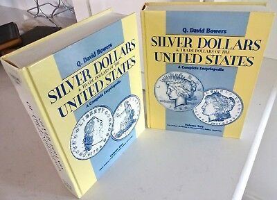 Silver Dollars of the United States Vol 1 & 2 by Q David Bowers 1993