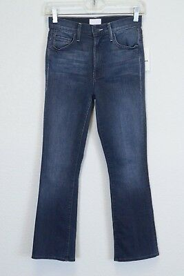 Mother Jeans Insider Crop Repeating Love Crop Ankle Skinny Jeans Denim 24 NWT