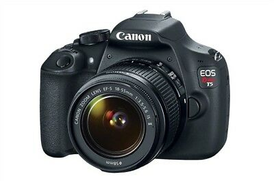 BRAND NEW Canon EOS Rebel T5 Digital SLR Camera Kit with EF-S 18-55mm IS II Lens