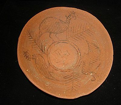 AWESOME!   ANCIENT PAINTED BOWL WITH BIRD AND TREE OF LIFE! 3000BC~no reserve