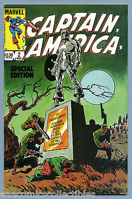 Captain America Special Edition #2 1984 #113 Our Lover Story 5 Steranko Marvel c