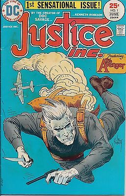 Dc Comics-Justice Inc. Featuring The Avenger -1St Sensational Issue - June 1975