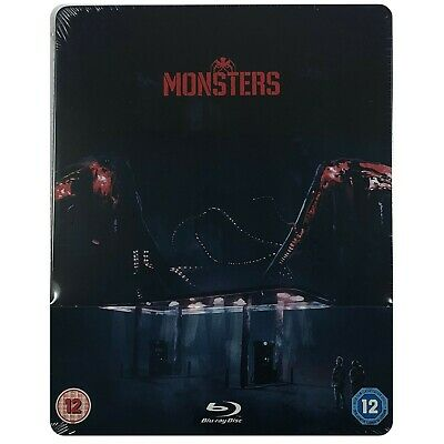 Monsters Steelbook - UK Exclusive Limited Edition Blu-Ray