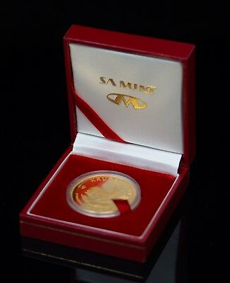 1997 South Africa Proof 30th Anniversary 1oz Fine Gold Krugerrand & Original Box