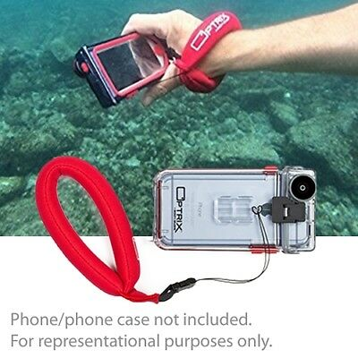 purchase cheap f22ff 3aa17 OPTRIX BY BODY Glove Neoprene Wrist Float for Optrix Cell Phone Cases (Red)