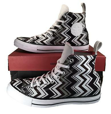 7a4bc4cb2c32bf Converse X Missoni Chuck Taylor All Star High Top Sneaker BLACK  125 53383C