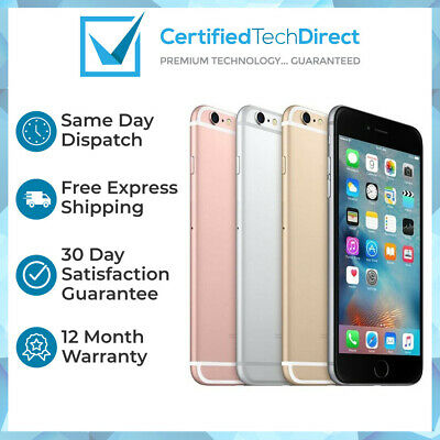 Apple iPhone 6S 16GB 32GB 64GB 128GB Refurbished 6 Month Warranty