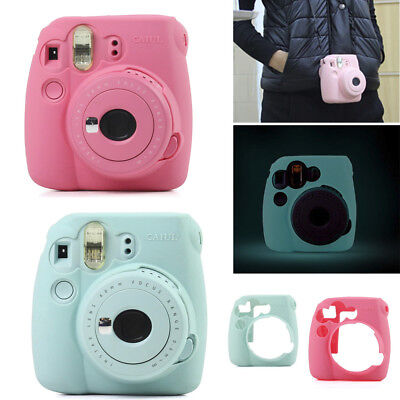 For Fujifilm Fuji Instax Mini 8 9 Instant Camera Plastic Bag Carry Cover Case