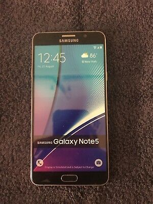 Samsung Galaxy Note 5 N920 Dummy Display Phone - White