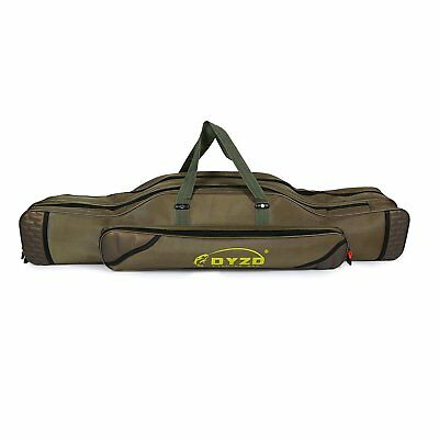 Fishing Rod Reel Case Bag Travel Carry Case Carrier Holder Pole Tool Storage Bag