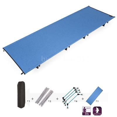 Portable Off-Ground Folding Cot Outdoor Lightweight Camping Sleeping Bed AU O5Z8
