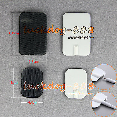 Dr.Ho's 2mm Replacement Tens Units Electrode Pads for Digital Therapy Massager