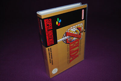 THE LEGEND OF ZELDA : A LINK TO THE PAST - SNES FRA/SFRA - Universal Game Case
