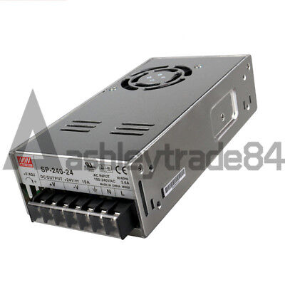 NEW MEAN WELL SP-240-24 AC to DC Power Supply Single Output 24V 10 Amp 240W