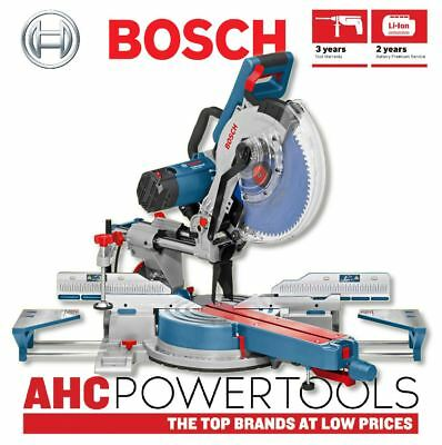 "Bosch GCM 12 SDE 12"" Double Bevel Sliding Mitre Saw 240v - 0601B23170"