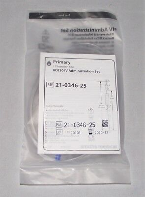 1x NEW GRASEBY 500 INFUSION PUMP 8C4220 IV ADMIN SET 21-0346-25 SMITHS MEDICAL