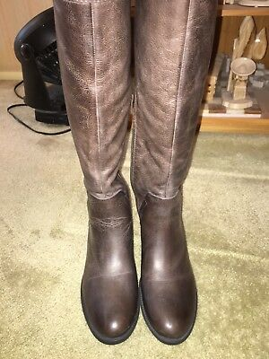 73eebbc312d Vince Camuto Bendra Over the knee leather Boots-bomber urban distressed 8M