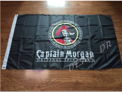 Captain Morgan Rum Banner 3x5 Flag Sign Bar decorative banner