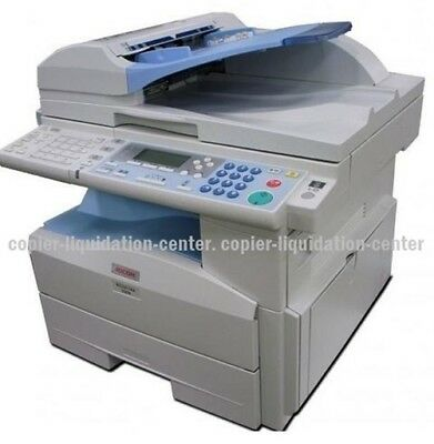 Ricoh Aficio MP 201 - Black and White Copier, Color Scanner printer Fax -20 PPM