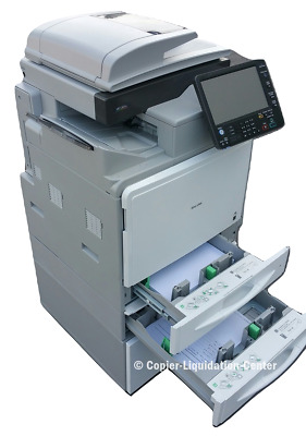 Ricoh MPC 401 Color Copier Laser Printer Scanner - Speed 42 ppm