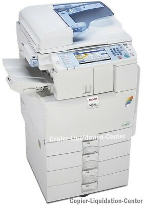 Ricoh MPC 2551 Color Copier Laser Printer Scanner - Speed 25 ppm