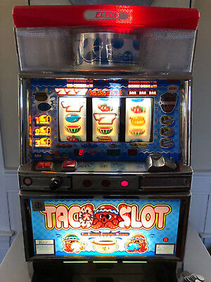 Taco Slot - Japanese Slot Machine or Pachislo from a japanese cruise ship