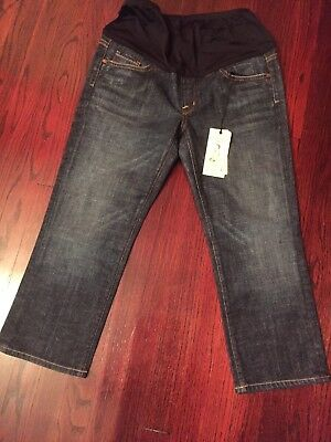 citizen of humanity maternity blue jeans size 30