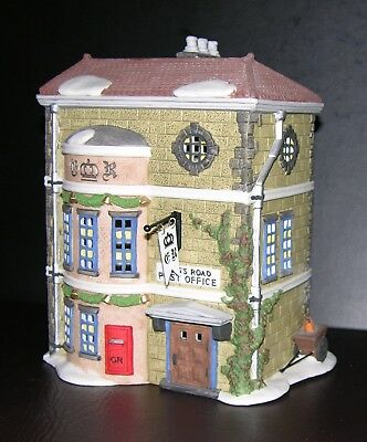 "Dept. 56 Dickens Village ""kings Road Post Office"""