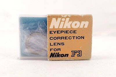 Near Mint =unsued= Nikon eyepiece correction Lens -3.0 for F3 in Box FREE SHIP!