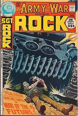 Dc Comics - Our Army At War Sgt. Rock - #240 - Jan 72- 48Pgs - See Photos & Info