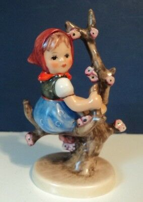 "Vintage German GOEBEL HUMMEL FIGURINE ""Apple Tree Girl""   NM COND"